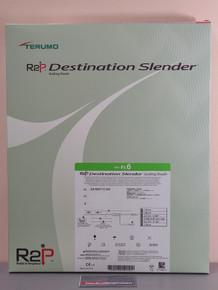 Terumo GS-R6ST1C12W R2P ™ DESTINATION SLENDER ™ Guiding Sheath 119 cm, 6 Fr, Straight. 1 per box