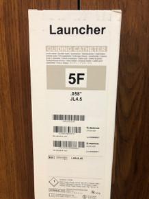"LA5JL45 Launcher Guide Catheter 5F, 0.058"", JL4.5,  Left Coronary Curve"