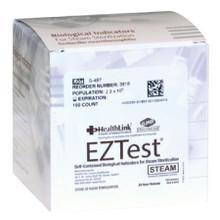 Healthlink 3918 EZTest® Sterilization Biological Indicator Vial Steam. Case/100 (1060163)