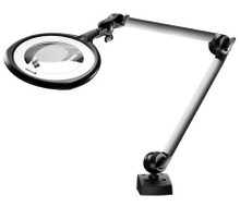 Waldmann Lighting #113016000-00595384 Magnifying Lamp Table Mount LED 14 Watt White LIGHT, MAGNIFYING LED RLLQ48R 3.5 DIOPTER