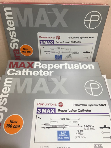 3MAXC Penumbra System MAX 3MAX Reperfusion Catheter 4.7Fr. 3MAXC-A
