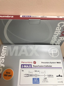 3MAXC-A Penumbra System MAX 3MAX Reperfusion Catheter