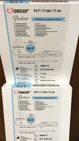 DS857117 Oscor Destino Steerable Guiding Sheath 8.5Fr. x 71cm