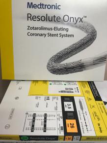RONYX35026UX 3.5x26 Resolute Onyx Drug-Eluting Stent 3.5mm x 26mm