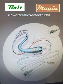 BALT 1.2 FlOW DIRECTED MICROCATHETER 180cm, 1.2Fr x 0,21mm= 0.008""