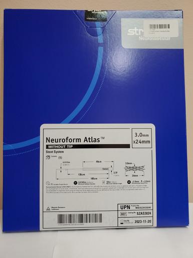 STRYKER SZAS3024 NeuroForm Atlas™ Stent System 3.0mm x 24mm without tip  Exp. 2023-11-20