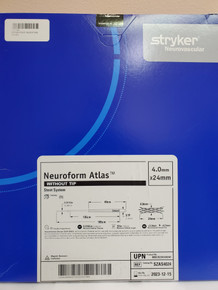 STRYKER SZAS4024 NeuroForm Atlas™ Stent System 4.0mm x 24mm without tip  Exp. 2023-12-15