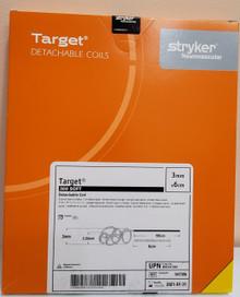 Stryker 547306 M0035473060 Target 360 Soft Coils 3mm x 6cm