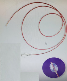 Edwards Lifesciences, 12TLW405F35, Fogarty Over-the-wire thru-lumen embolectomy catheter 40 cm 5.5Fr, price of each