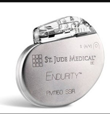 Pacemaker PM1160, Endurity SR, Single-chamber pulse generator, Connector Type IS-1