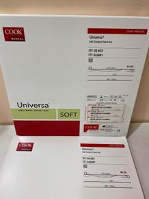 COOK G53691, Ureteral Stent Set Universa®, Double Pigtail, 6 Fr. 22cm, Polyurethane US-624