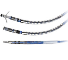 7120-65 St. Jude Medical, Durata™, Defibrillation lead 65 cm, Dual Shock, Optim, Ext/Ret Helix fixation , Connector: DF1; IS-1, 17 cm Tip-to-Proximal Coil