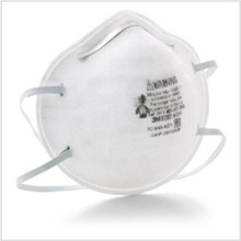 3M 8200 Particulate Respirator / Surgical Mask N95 Cup Earloops One Size Fits, Most White, NonSterile, case of 160 Product may be non-returnable or require additional restocking fees