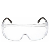 Honeywell S0250X, Safety Glasses Uvex Ultra-spec 2000 Wraparound Anti-Fog Coating Clear Tint Polycarbonate Lens Clear Frame Over Ear One Size Fits Most, Box of 10