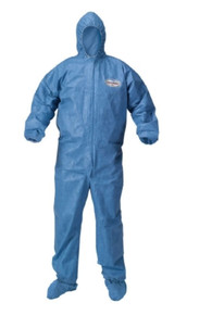 Kimberly Clark 37705, Coverall, KleenGuard A60 X-Large Blue Disposable, case of 24