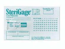 M 4171MM Comply™ SteriGage™ Sterilization Load Record Card Steam, case of 100