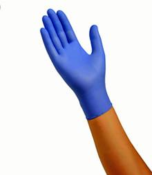Cardinal Health™N88TT23L Flexal Feel Nitrile Exam Gloves Blue, LG, 100EA/BX, Case of 7 boxes (N88TT23L KIT7) EXAM GLOVES FLEXAL FEEL NITRILE LARGE 3.3MIL POWDER FREE LIGHTWEIGHT STRONG TEXTURED FINGERTIPS NONSTERILE COOL BLUE Case of 7 boxes w/100 gloves