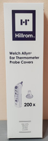 Welch Allyn 06000-005, Ear Thermometer Probe Cover ThermoScan ® For Braun ThermoScan® Pro 6000, 3000, and 4000 Devices, 200 per Box, Case of 25 boxes; Total=5000 Probes