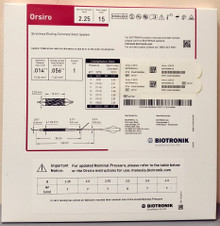 BIOTRONIK 401741 Orsiro Sirolimus Eluting Coronary Stent System 2.25 mm x 15 mm, Box of 01