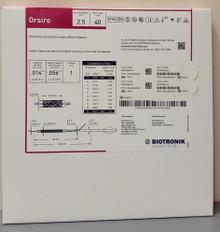 BIOTRONIK 404673 Orsiro Sirolimus Eluting Coronary Stent System 2.5 mm x 40 mm, Box of 01