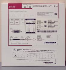 BIOTRONIK 401750 Orsiro Sirolimus Eluting Coronary Stent System 3.0 mm x 18 mm, Box of 01