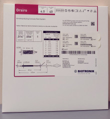 BIOTRONIK 404677 Orsiro Sirolimus Eluting Coronary Stent System 4.0 mm x 40 mm, Box of 01