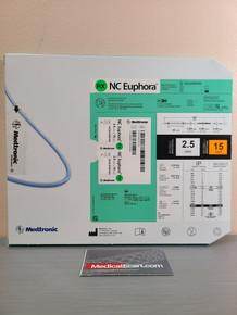 Medtronic NCEUP2515X NC Euphora™ Noncompliant Balloon Dilatation Catheter 2.5 mm x 15 mm, Box of 01