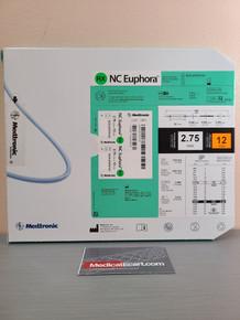 Medtronic NCEUP27512X NC Euphora™ Noncompliant Balloon Dilatation Catheter 2.75 mm x 12 mm, Box of 01