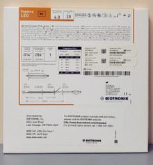 BIOTRONIK 367032 Pantera LEO Fast-Exchange PTCA Catheter 4.0 mm x 20 mm, Box of 01