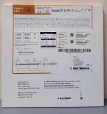BIOTRONIK 367034 Pantera LEO Fast-Exchange PTCA Catheter 5.0 mm x 20 mm, Box of 01
