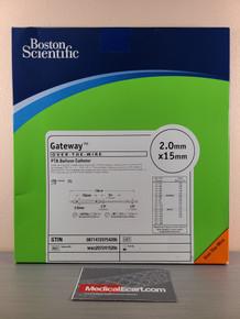 Boston Scientific M0032072415200 Gateway™ 207221520,  OTW PTA Balloon Catheter 2.0 mm x 15 mm, Box of 01