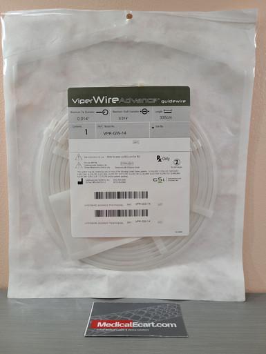 "ViperWIRE Advance VPR-GW-14 Guidewire 0.014"" x 335CM, Pack of 01"