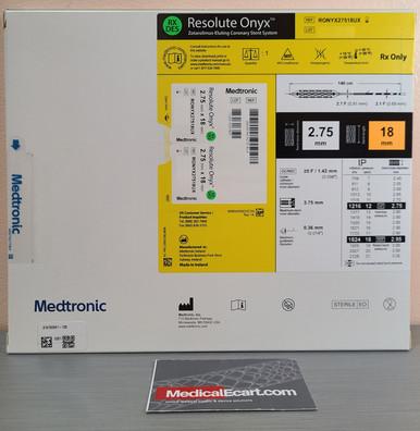 Medtronic RONYX27518UX Resolute Onyx™ Drug-Eluting Stent 2.75mm x 18mm. Box of 01
