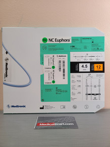 Medtronic NCEUP4512X NC Euphora™ Noncompliant Balloon Dilatation Catheter 4.5 mm x 12 mm, Box of 01