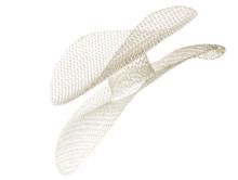 Ethicon PHSM6 PROLENE® Surgical Mesh Hernia Repair, Polypropylene Hernia System, Medium, Size 4.5cm x 10cm, Connector Size 1.9cm x 1.3cm. Box of 06