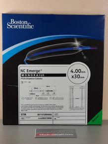 Boston Scientific H7493926730400 NC Emerge Monorail™ PTCA Dilatation Catheter 4.0mm x 30mm