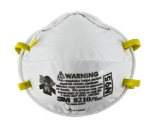 3M 8210Plus Particulate Respirator Mask N95 Cup Elastic Strap One Size Fits Most White NonSterile , Box of 20