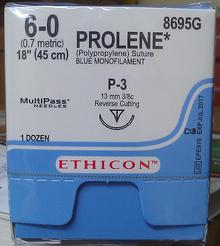 Ethicon, 8695G, PROLENE, Suture