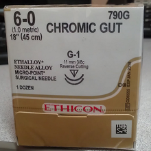 Ethicon 790G Surgical Gut Suture - Chromic