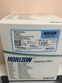 002204 Horizon Ligating Titanium Medium Clips