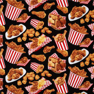 Fried Chicken Fabric