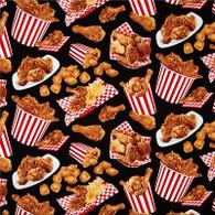 Fried Chicken Fabric