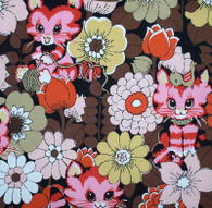 Pretty Kitty Fabric