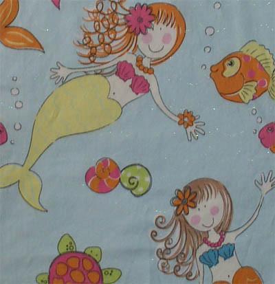 Big Mermaid Fabric