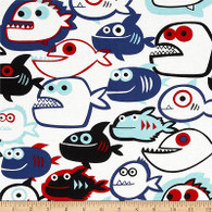 Piranhas Fabric
