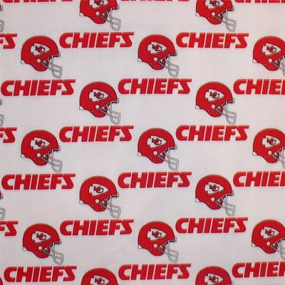 Kansas City Football Fabric
