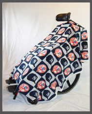 New York Baseball- Fleece Wheelchair Poncho