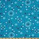 Aqua Bandana Paisley Fabric