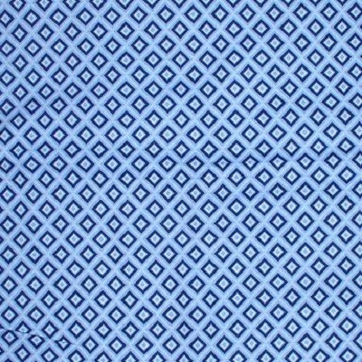 Blue Diamonds Fabric