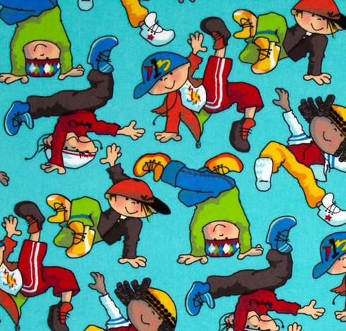 Breakdance Kids Flannel